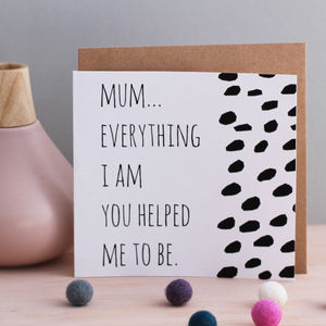 Messages For Mum Cards