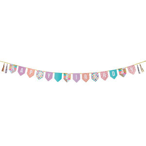 Bright Happy Birthday Bunting