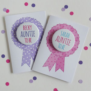 Auntie To Be Card