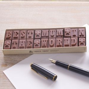 Mothers Day Chocolate Message