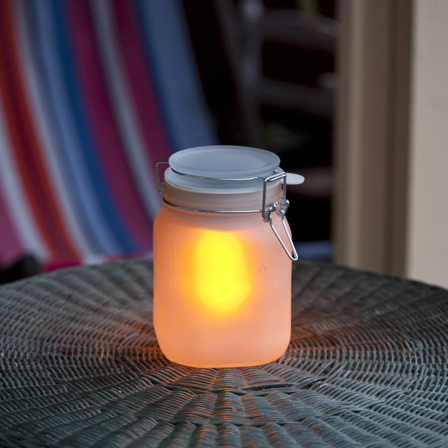 Solar Powered Mason Jar By All Things Brighton Beautiful