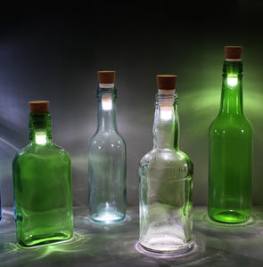 Rechargeable Bottle Light - new in wedding styling