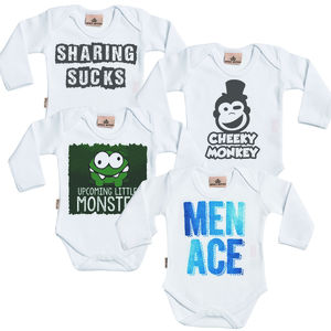 Baby Boy Babygrow Set - babygrows