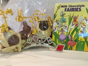 Easter Fairy Sweet And Chocolate Hamper Box - sweets & chocolate