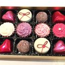 Belgian Chocolate Hearts And Cupcakes