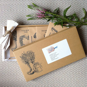 Three Month Flower Seed Subscription - gifts for her
