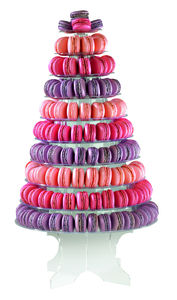 240 Macaron Tower - statement wedding decor