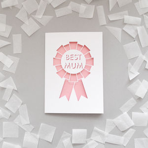 'Best Mum' Card