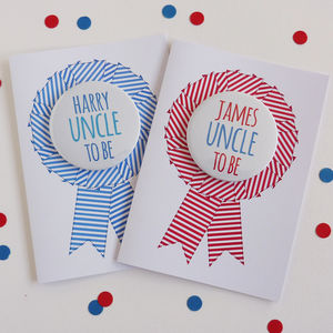 Uncle To Be Card - new baby cards