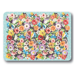 Flower Patch Place Mats Set Of Four - kitchen
