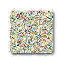 Tropical Birds Coasters Set Of Four
