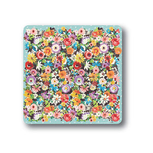Flower Patch Coasters Set Of Four - placemats & coasters