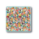 Flower Patch Coasters Set Of Four