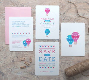 Higher Love Wedding Invitation