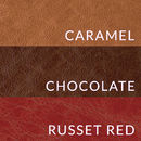 Leather Swatch Colours