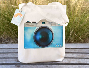 Camera Tote Bag - bags & purses