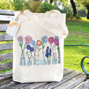 Flower Vases Tote Bag