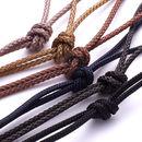 Men's ID Bead Friendship Necklace