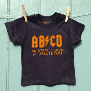 Baby Rocker Abcd T Shirt - clothing