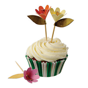 Flower Cupcake Kit - kitchen