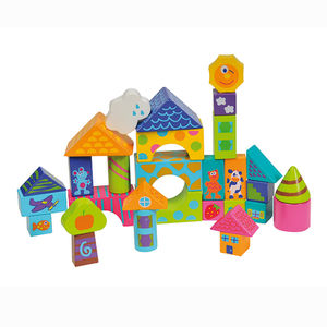 Wooden Stacking Blocks - traditional toys & games