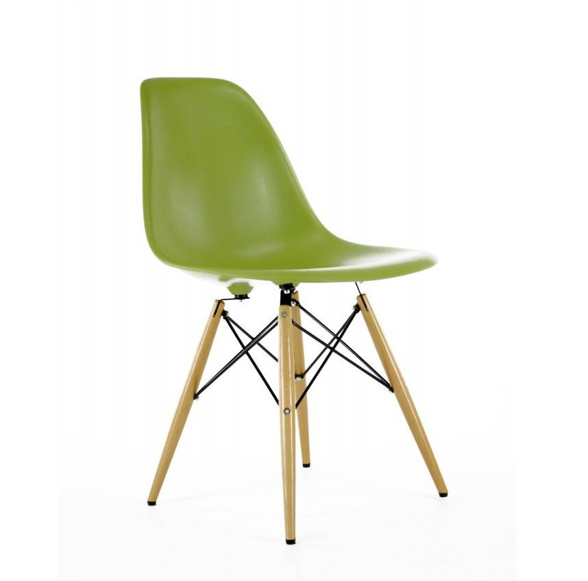 eames style dsw coloured chair by i love retro notonthehighstreet