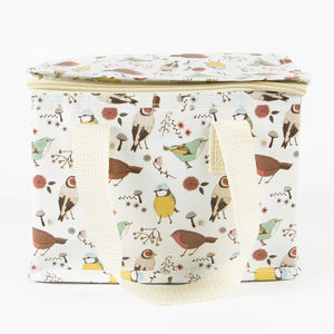 'British Birds Print' Lunch Bag - picnics & barbecues