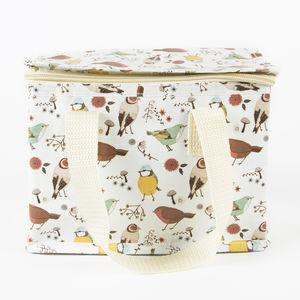 'British Birds Print' Lunch Bag - new in garden