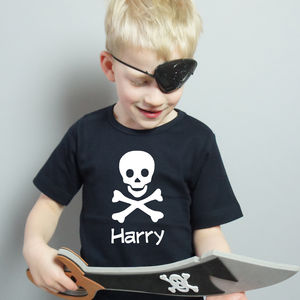 Personalised Pirate T Shirt