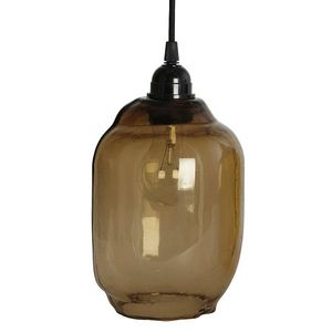 Smoked Glass Pendant Lampshade - lighting
