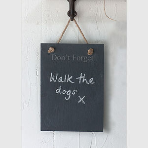 Don't Forget Slate Board - kitchen accessories