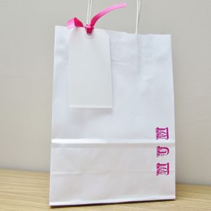 'Mum' Gift Bag And Tag Set - wrapping