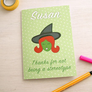 Personalised Funny Step Mum Mother's Day Card