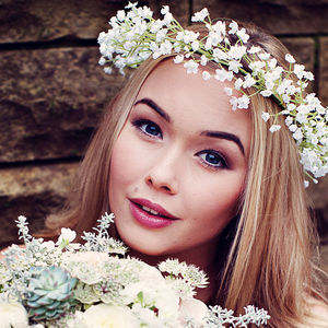 Harriet Gypsophila Headband