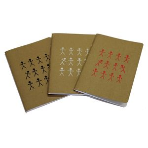 A5 Stickman Design Notebook