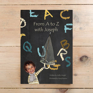 From A To Z With Name Of Child Hardback