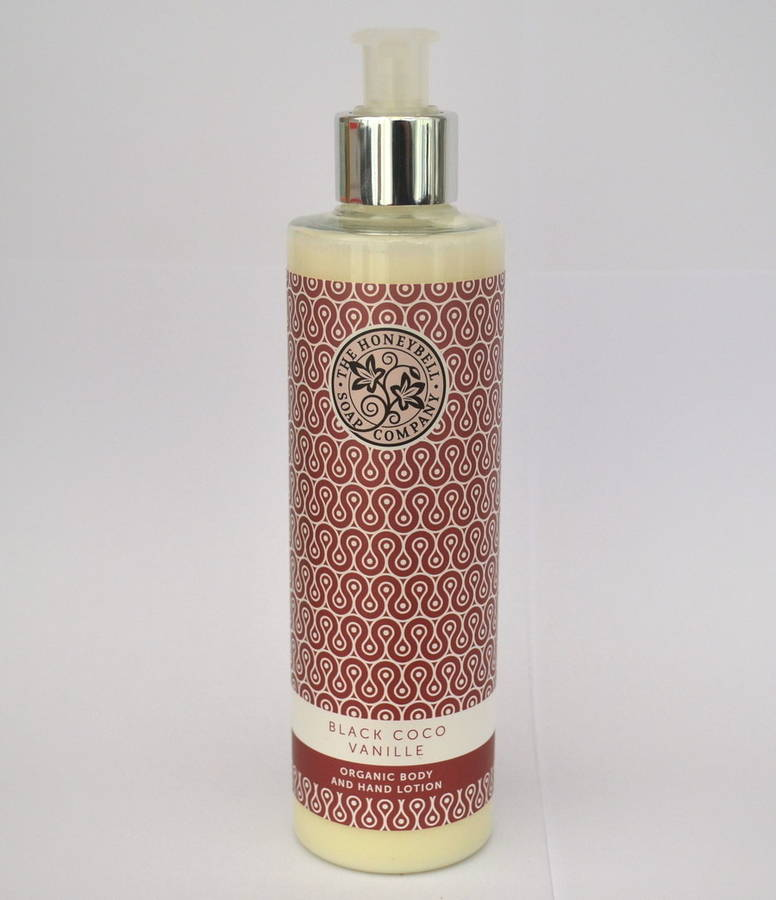 Black Coco Vanille Organic Body And Hand Lotion