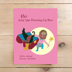 Children's Photo Personalised Girl's Dressing Up Book - books