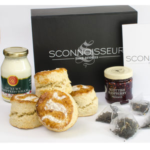 Cream Tea And Scones Gift Box - wedding favours