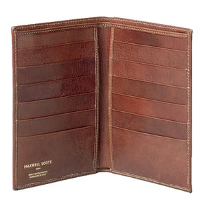 Leather Breast Pocket / Jacket Wallet. 'The Pianallo'