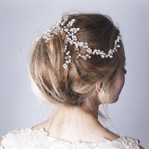 Handmade Cara Wedding Hair Comb - bridal accessories