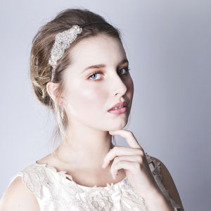Handmade Carina Four Wedding Headpiece - head pieces