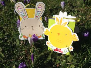 Great Egg Hunt Treat Bags - easter holiday outdoor play