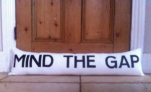 Personalised Door Draft Excluder