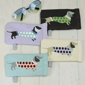 Sausage Dog Glasses Case