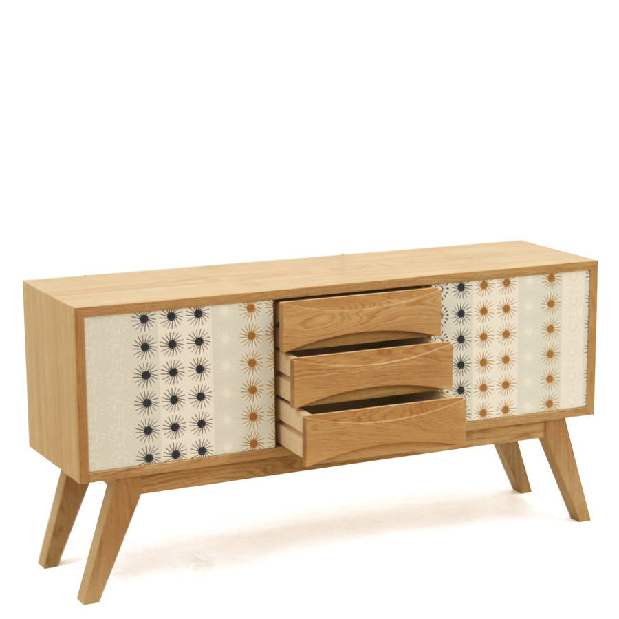 retro sideboard by james design. Black Bedroom Furniture Sets. Home Design Ideas