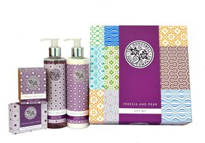 The Honeybell Freesia And Pear Gift Box - bath & body