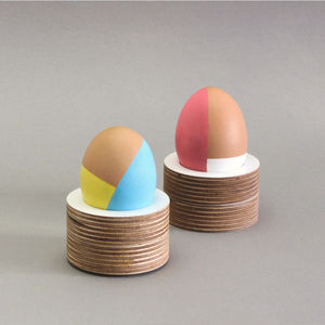 Wooden Egg Cup 2x - egg cups