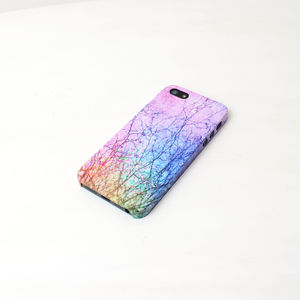 Rainbow Trees iPhone Phone Case - birthday gifts