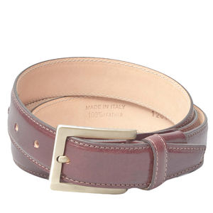 Luxury Personalised Leather Belt For Men. 'Gianni B' - women's accessories